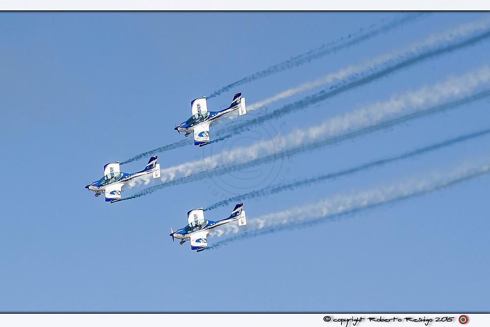 55° Anniversario delle Frecce Tricolori, volo acrobatico, acrobazia aerea, pilota acrobatico, pattuglia,