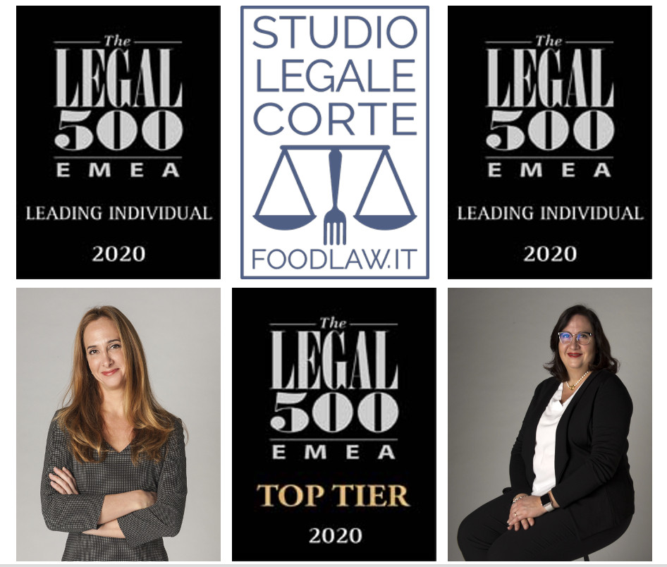 Paola Corte and Elena Corte and the Legal 500 rankings for food law