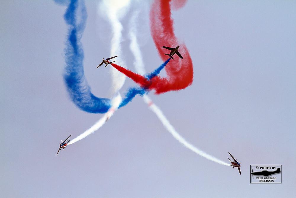 volo acrobatico, acrobazia aerea, manifestazione, rivolto, 55 anniversario pan
