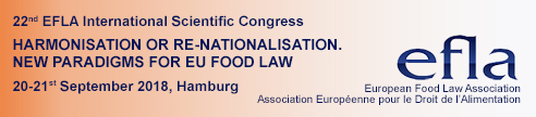 EFLA Congress, food law, harmonization or re-nationalisation