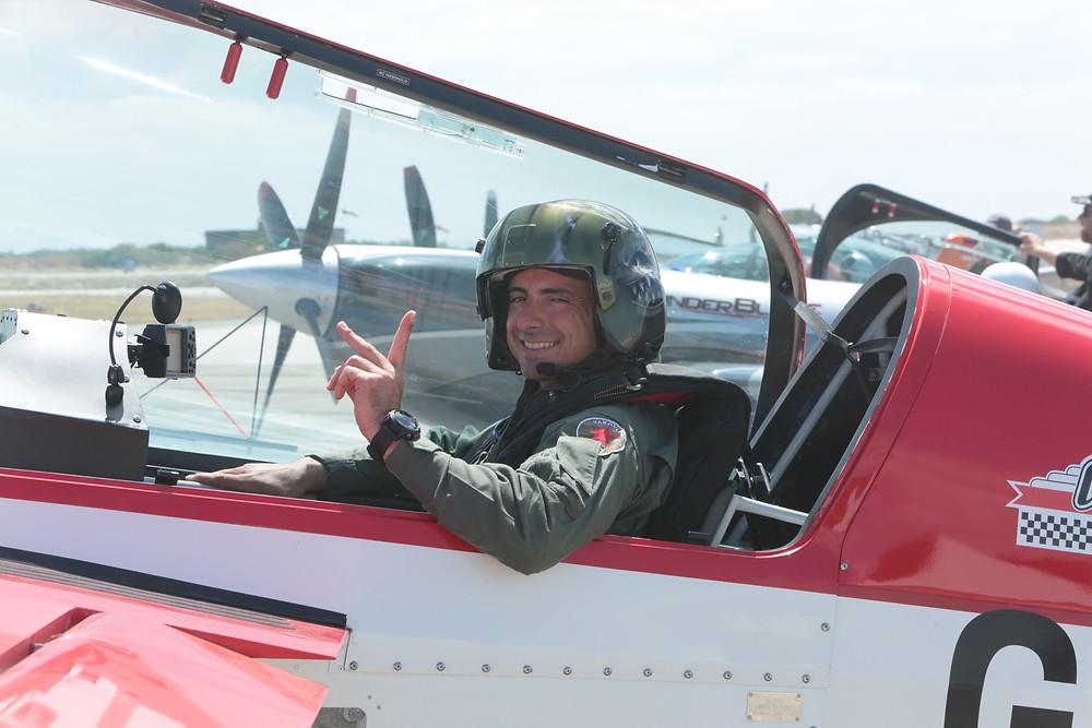 Stefano Landi, pilota acrobatico italiano