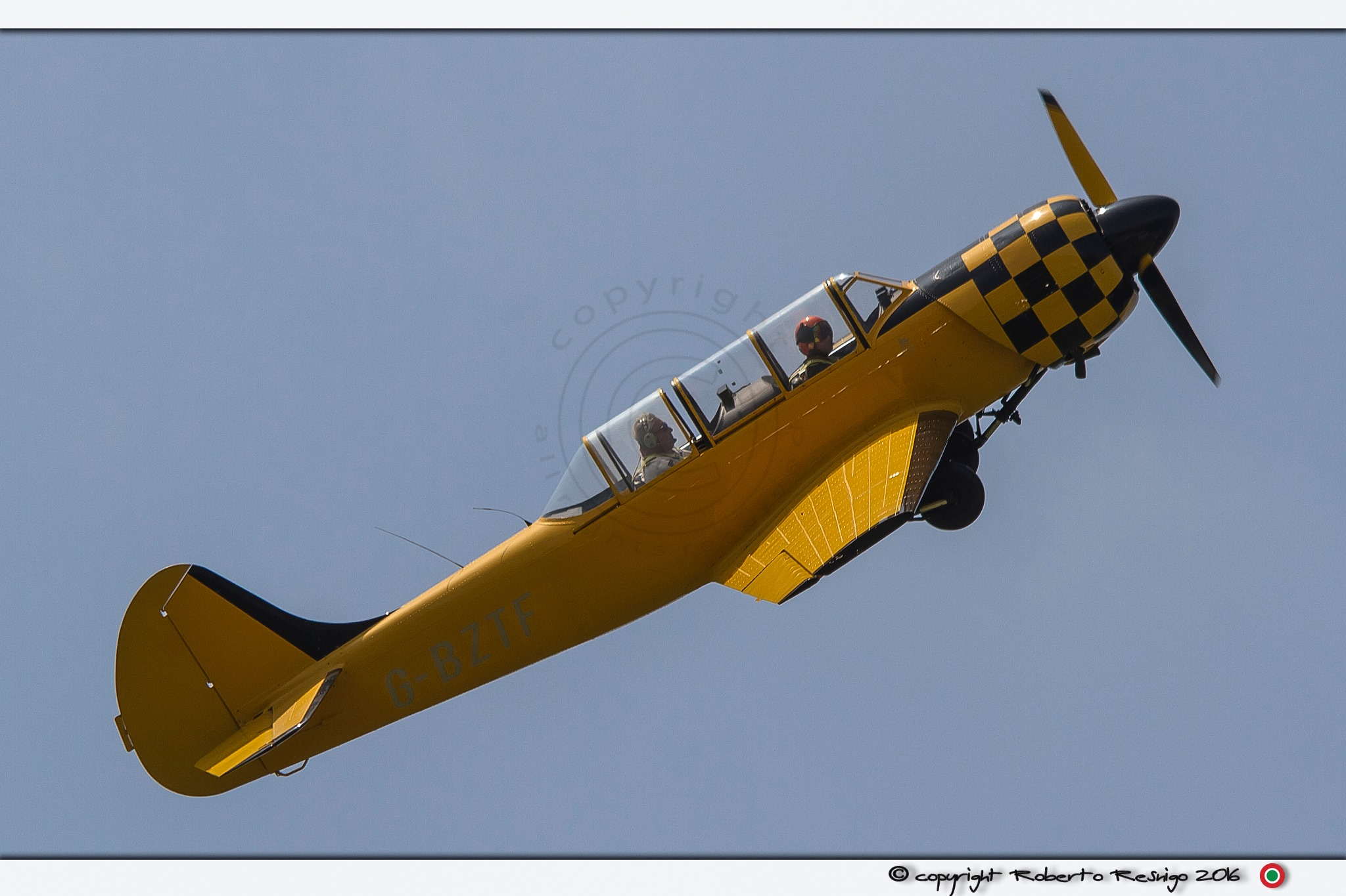 Yellow YAK 52