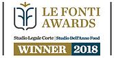 Studio dell'Anno food 2018 - Studio Legale Corte - Le Fonti