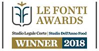Studio dell'anno food - LeFonti awards -