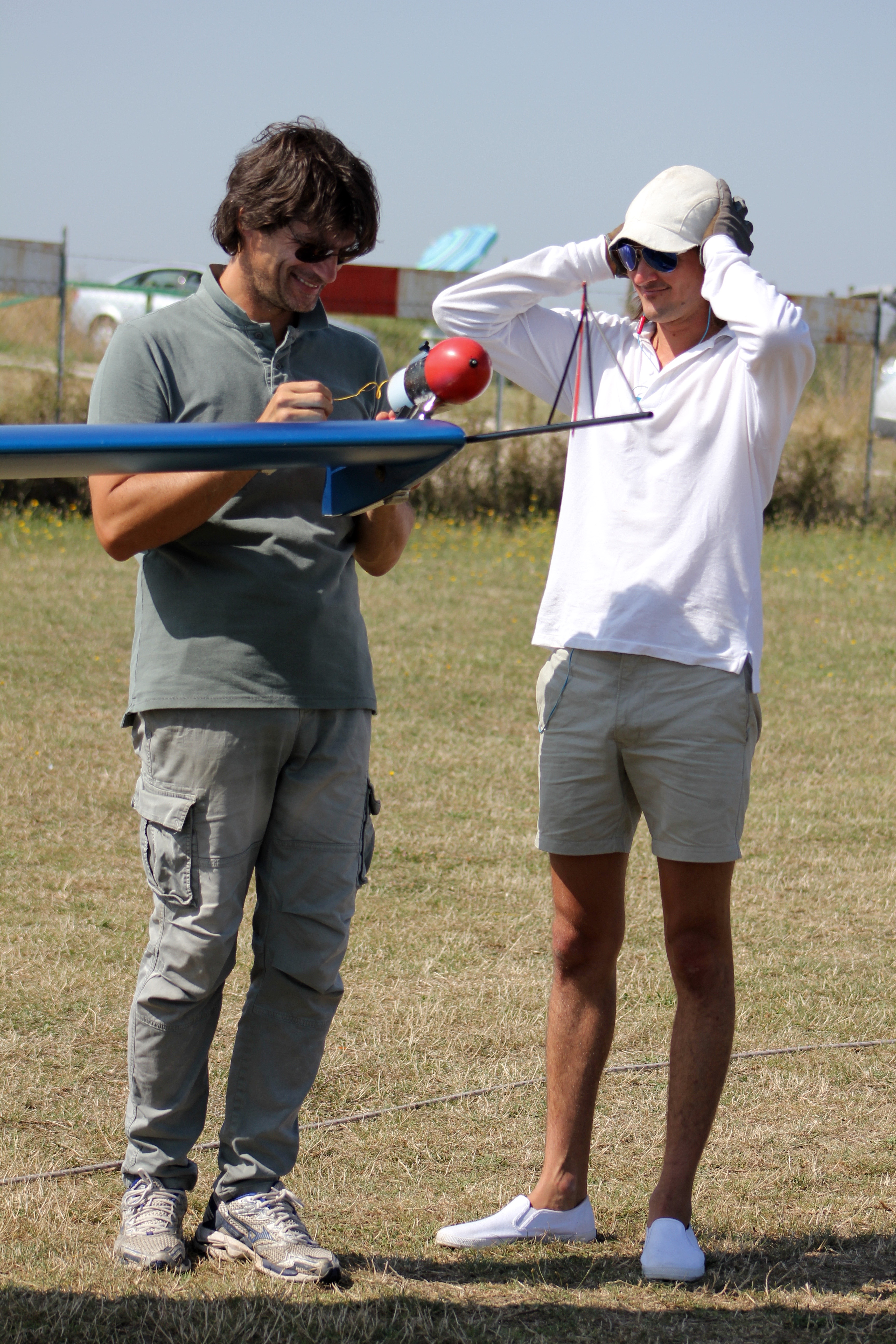 volo acrobatico: Sasha Marvin e Eric