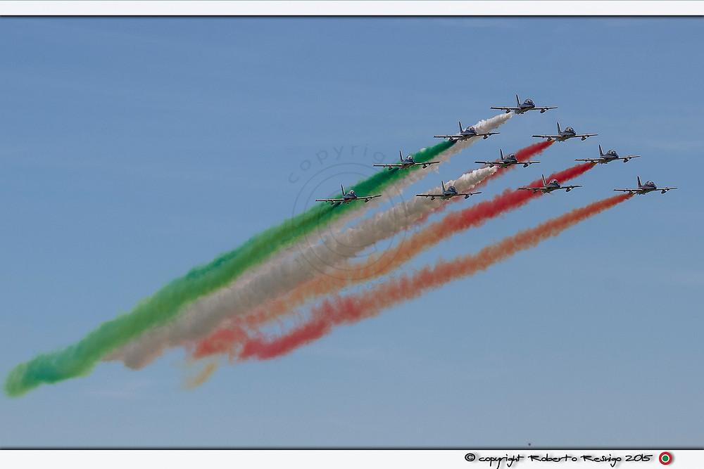 frecce tricolori,volo acrobatico, acrobazia aerea, manifestazione, rivolto, 55 anniversario pan