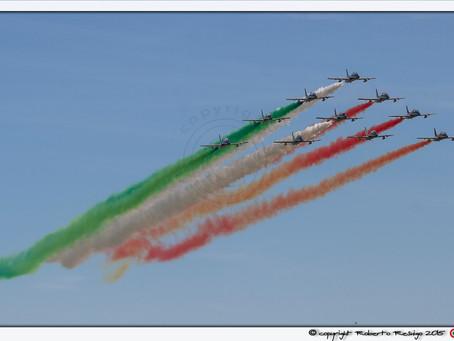 volo acrobatico: 55° Anniversario delle Frecce Tricolori     5-6 settembre a Rivolto (UD)