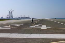 S. Katona on runway for G2 WAG Dubai