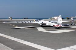Bertossio on runway for G2 WAG Dubai