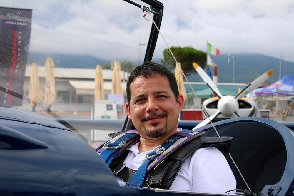 pilota acrobatico, Cristian Giorgetti