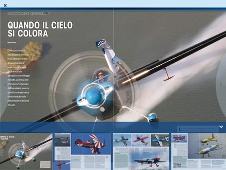 volo acrobatico: Quando il cielo si colora. Le livree di Mirco Pecorari- VFR Aviation, Marzo 2016