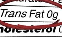acidi grassi trans - arriva lo stop della Commissione