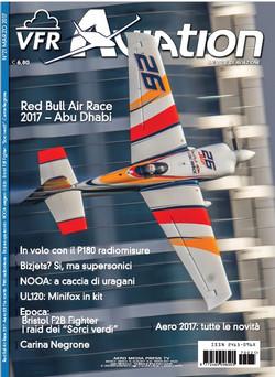 Red Bull Air Race Juan Velarde copertina marzo VFR Aviation marzo