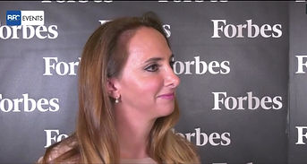 Paola Corte intervistata all'evento Forbes Food & Fashion 2020 a Milano