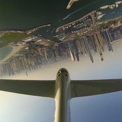 Eric LG  flying inverted WAG Dubai