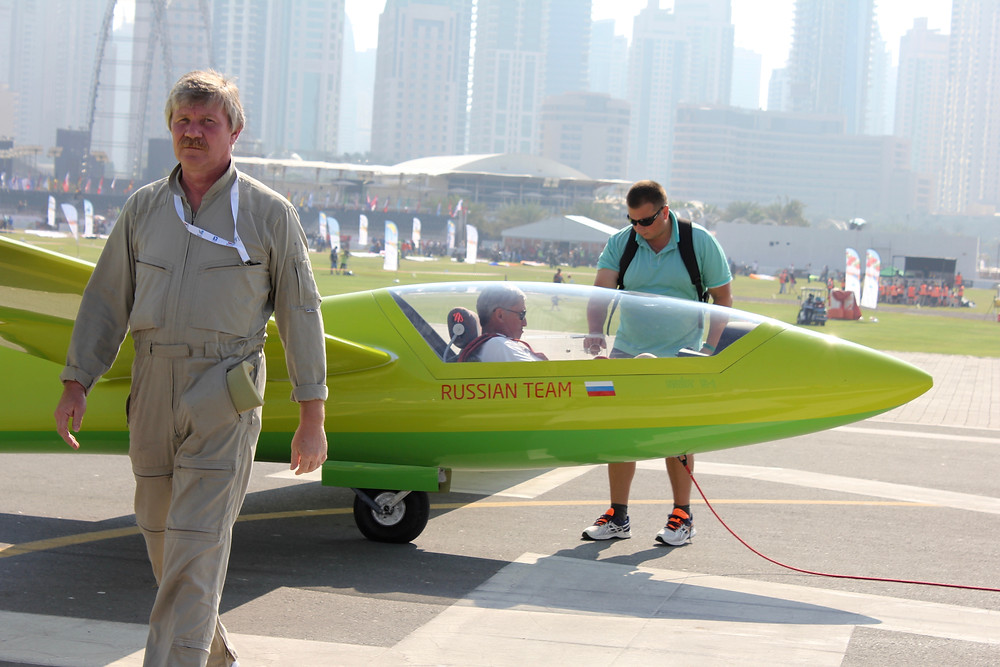 the russian glider swift s1