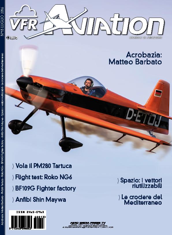 copertina VFR Aviation Luglio