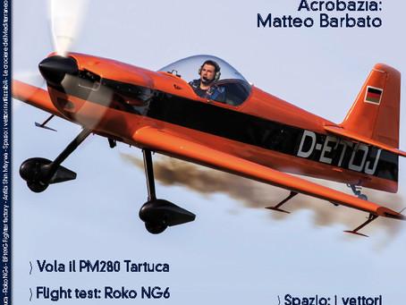 volo acrobatico: intervista a Matteo Barbato, il pilota sulla copertina di VFR Aviation di Luglio 20