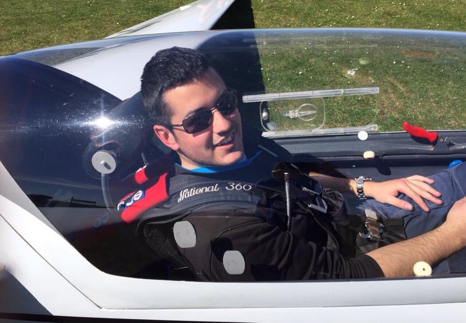 Daniele Ferrarese, campione volo acrobatico, aliante, acrobazia aerea