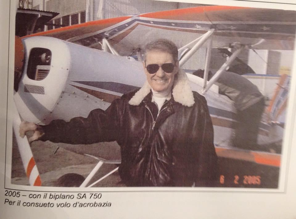 volo acrobatico Aldo Locatelli