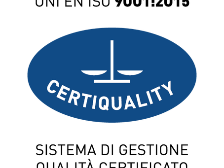 ​Studio Legale Corte obtains Certification UNI EN ISO 9001:2015 for the provision of legal, judicial