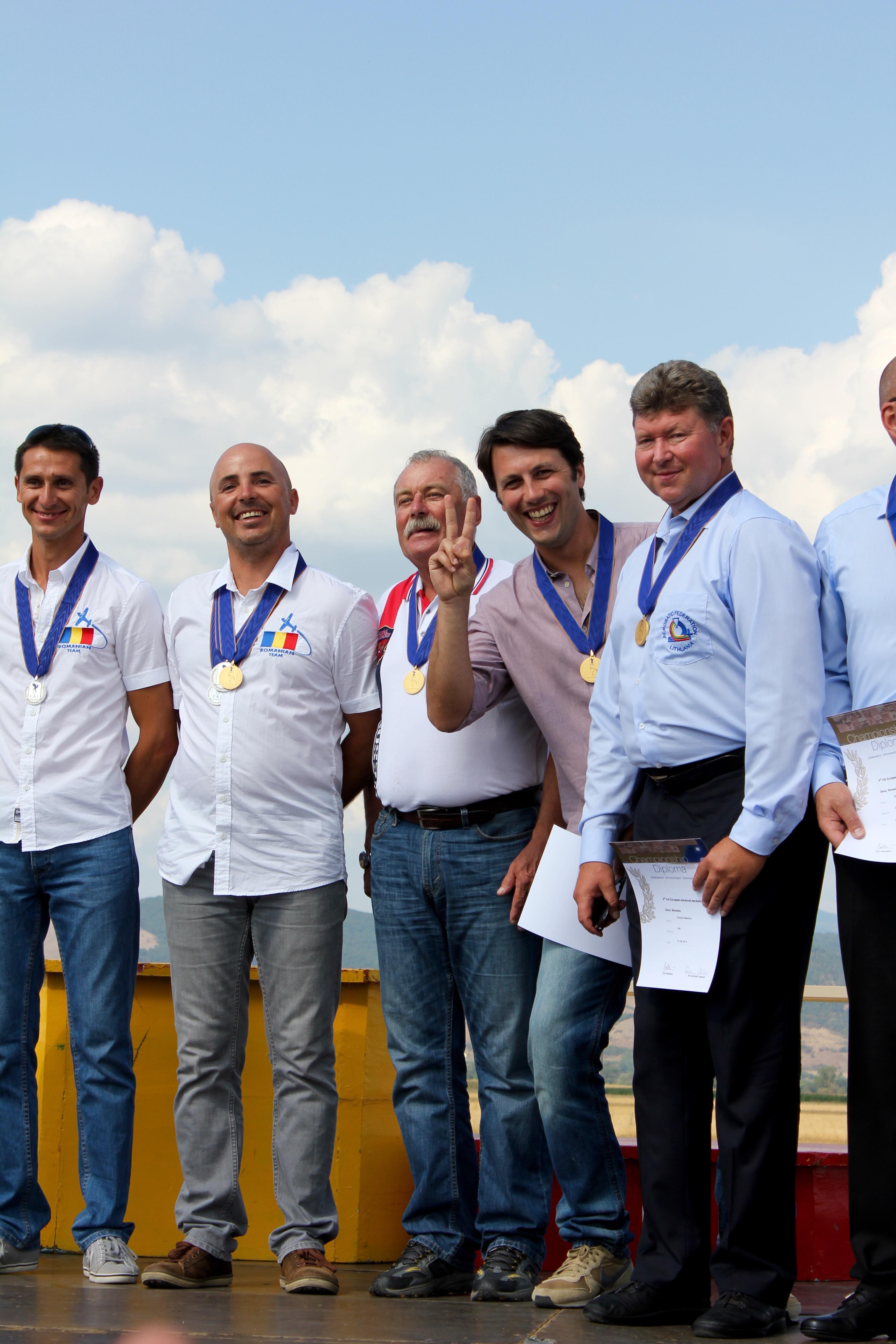 volo acrobatico: gold medalists