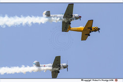 3 YAK 52 in formazione