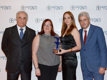Studio Legale Corte vince come Studio dell'Anno Food 2018 agli awards LeFonti