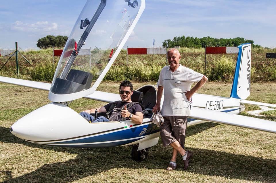daniele ferrarese, volo acrobatico, acrobazia aerea, campione italiano aliante