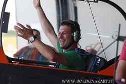 Matteo Barbato a bordo del CAP 232