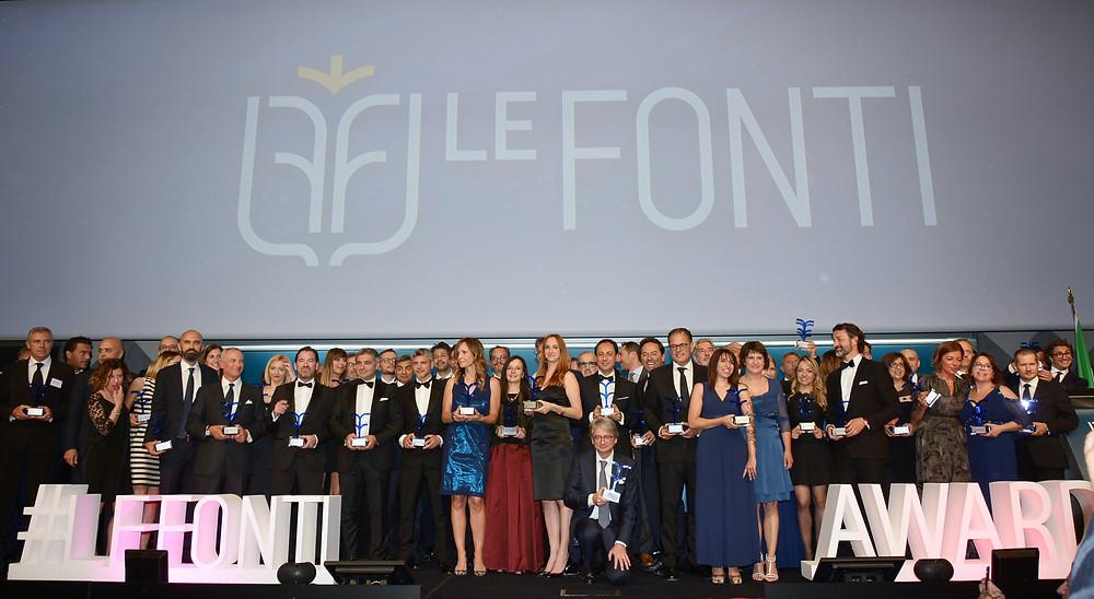 Studio Legale Corte premiato ai LeFonti legal awards come migliore studio legale per il food
