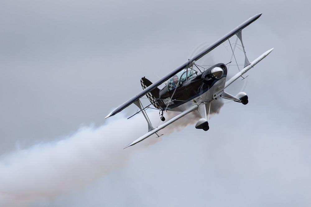 Francesco Fullin, pitts, volo acrobatico