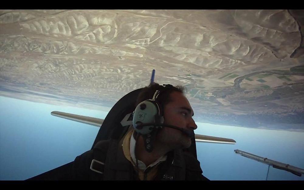 Enrico Castellino, pilota acrobatico, volo acrobatico