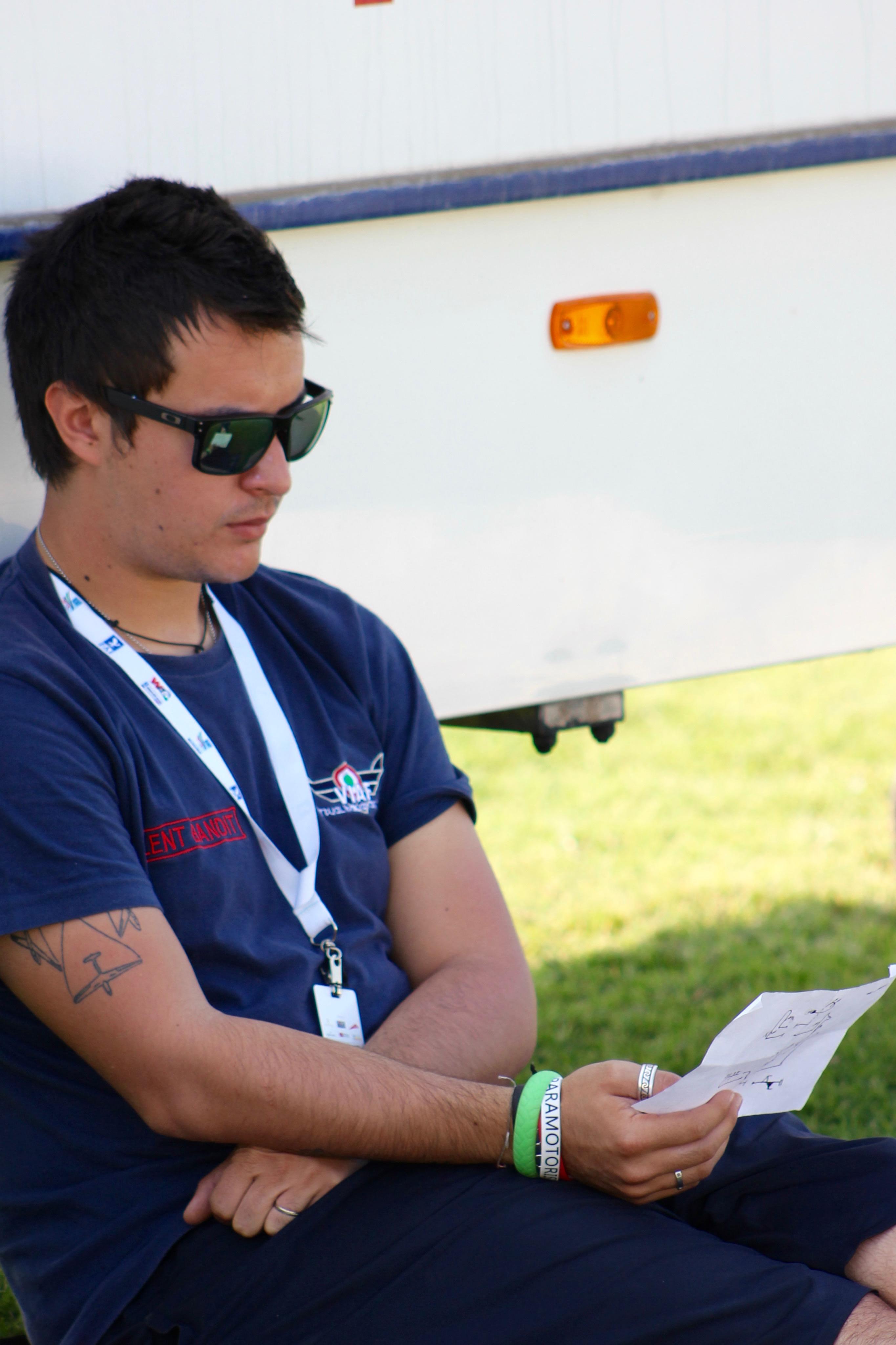 Luca Bertossio at WAG Dubai