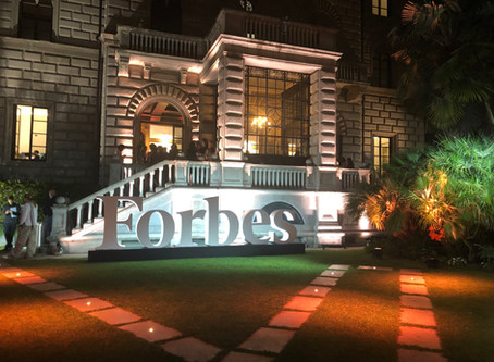 Paola Corte at the Forbes Women's Party 2019