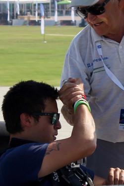 L. Bertossio and S. Katona WAG Dubai