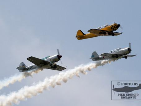 volo acrobatico: 1st YAK Meeting in Italia durante il Flyparty di Montagnana