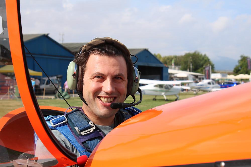 pilota acrobatico, Matteo Barbato