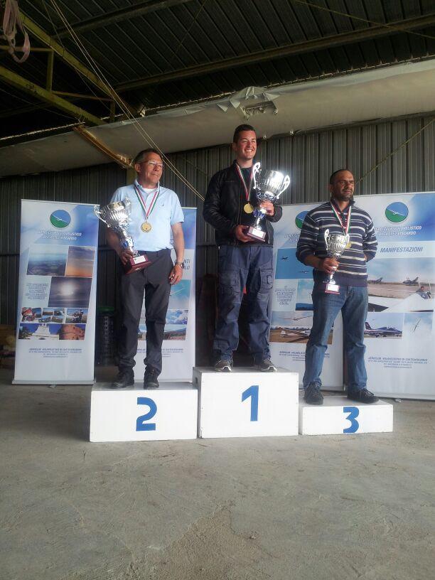 volo acrobatico aliante podio campionato avanzata