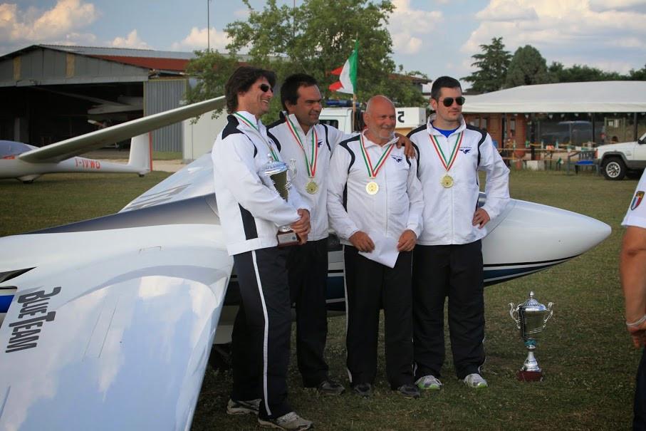 volo acrobatico aliante squadra nazionale acrobazia