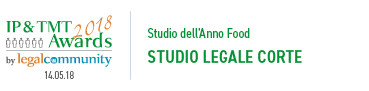 Studio dell'Anno Food 2018 - Studio Legale Corte