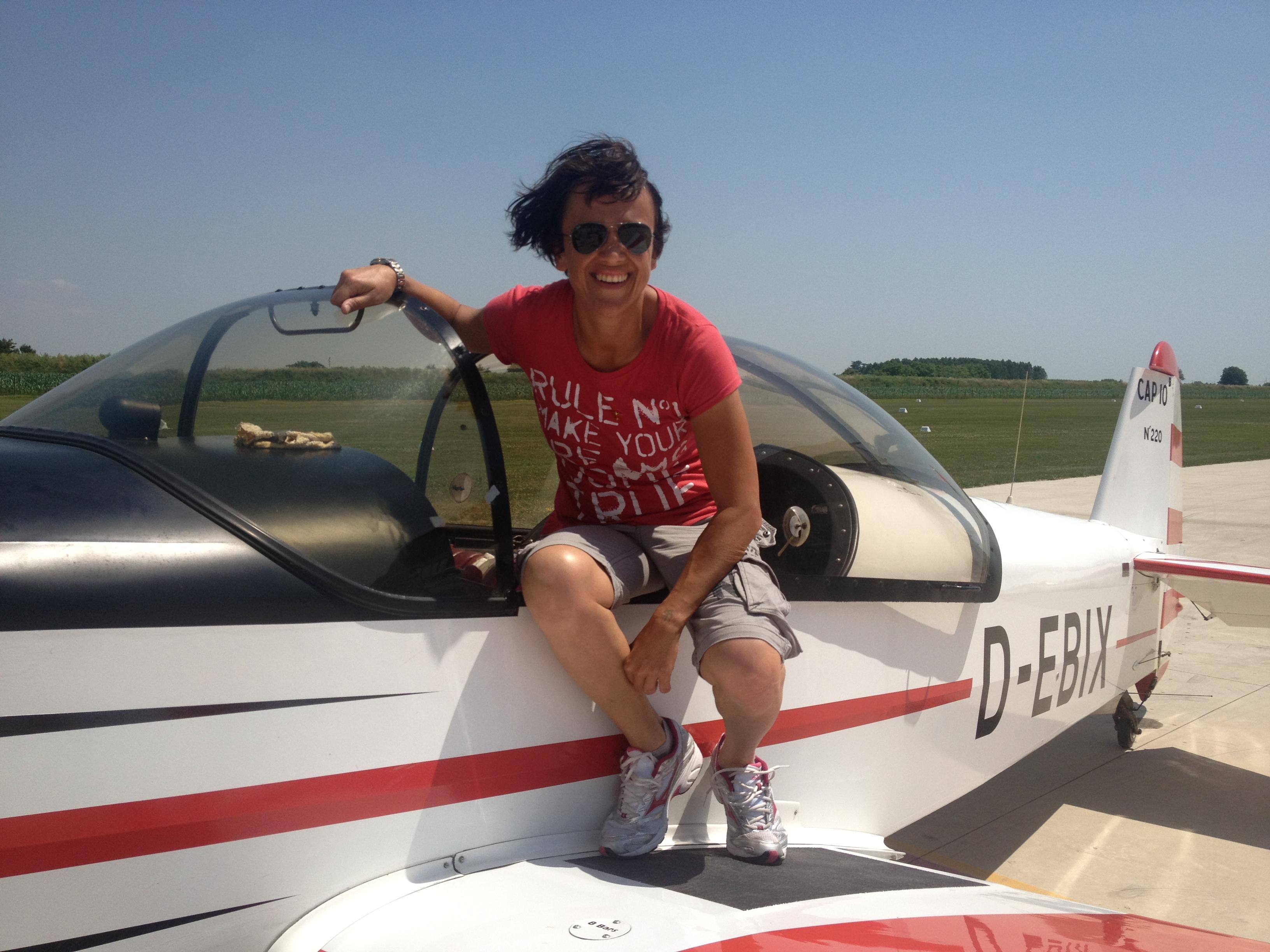 Alessia Nicolini sul CAP 10