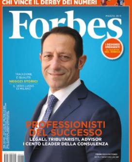 Forbes inserisce Studio Legale Corte tra i 100 leader della consulenza strategica, legale e fiscale