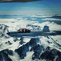 cap 10 della scuola di volo acrobatico Cantorair di Valbrembo, scuola di acrobazia aerea
