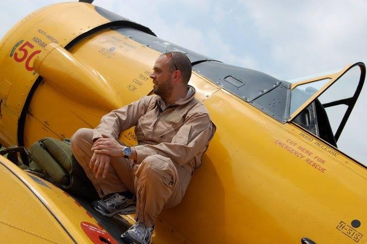 davide pirotti, pilota acrobatico