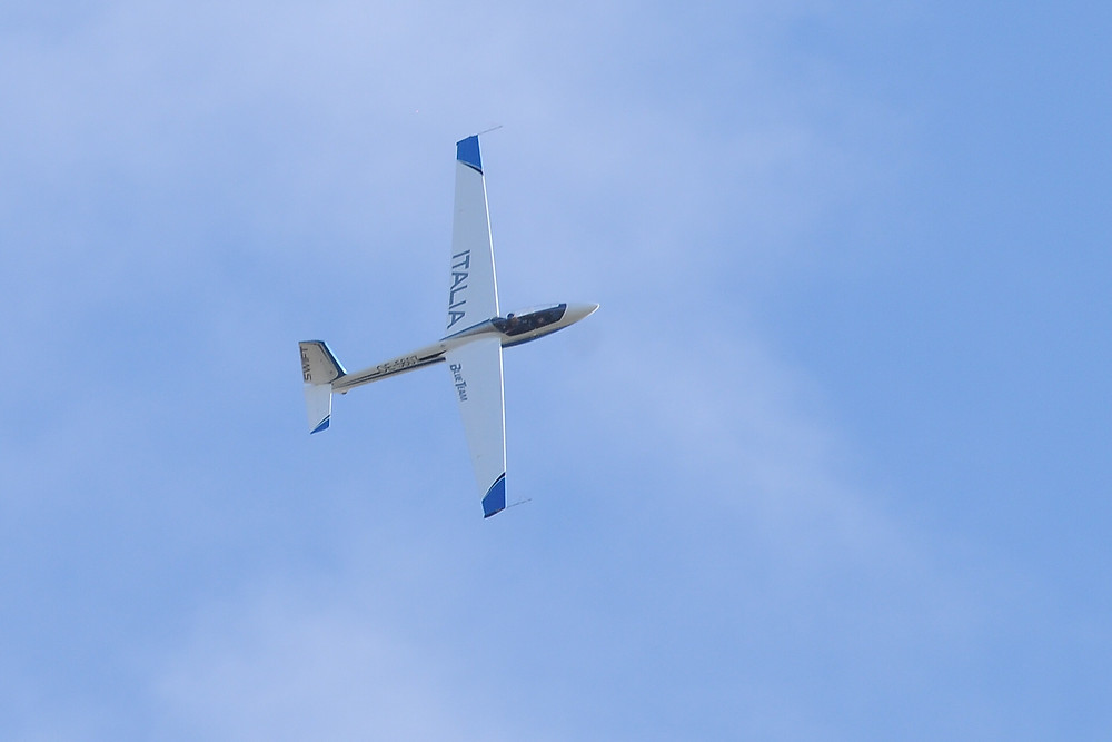 volo acrobatico alfina aliante acrobazia aerea