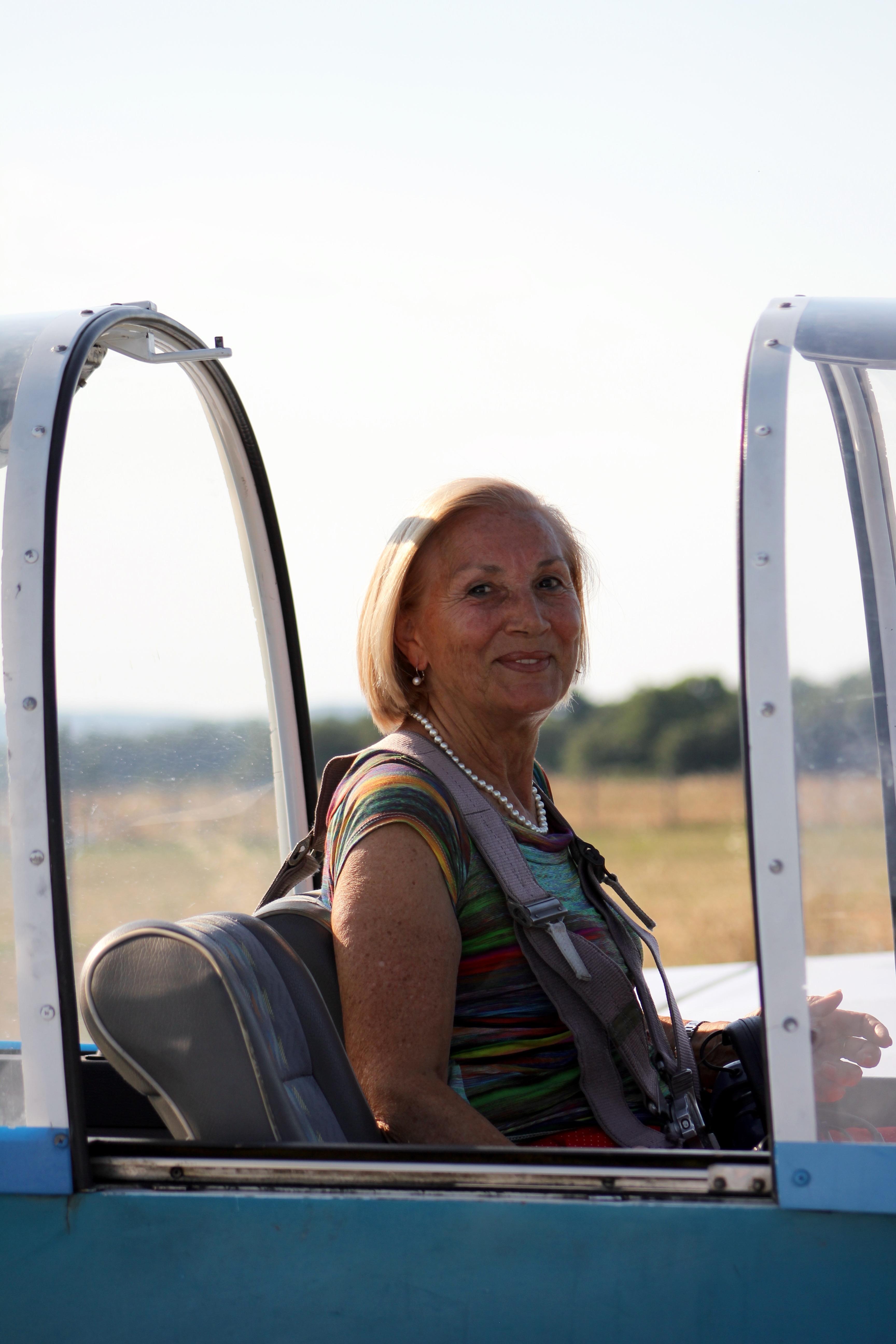 volo acrobatico: Lina Corrias
