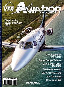 VFR Aviation, copertina, Mirco Pecorari, aircraft studio design, acrobazia, volo acrobatico