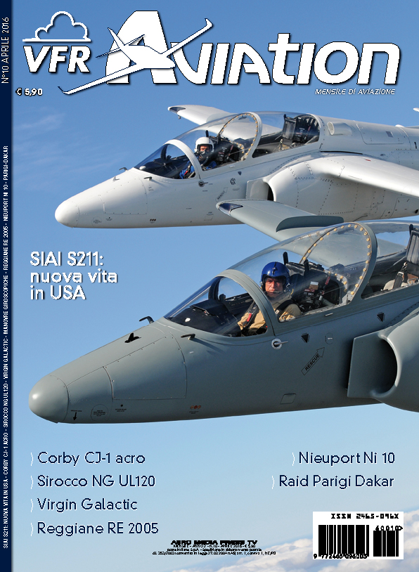 VFR Aviation Aprile 2016