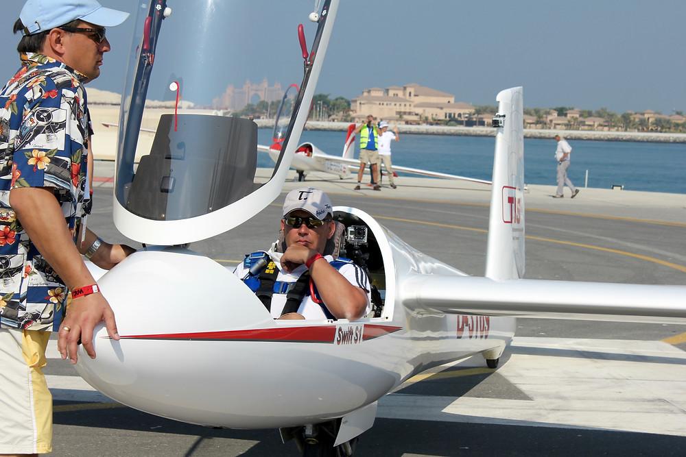 Markus Feyerabend ready for take off